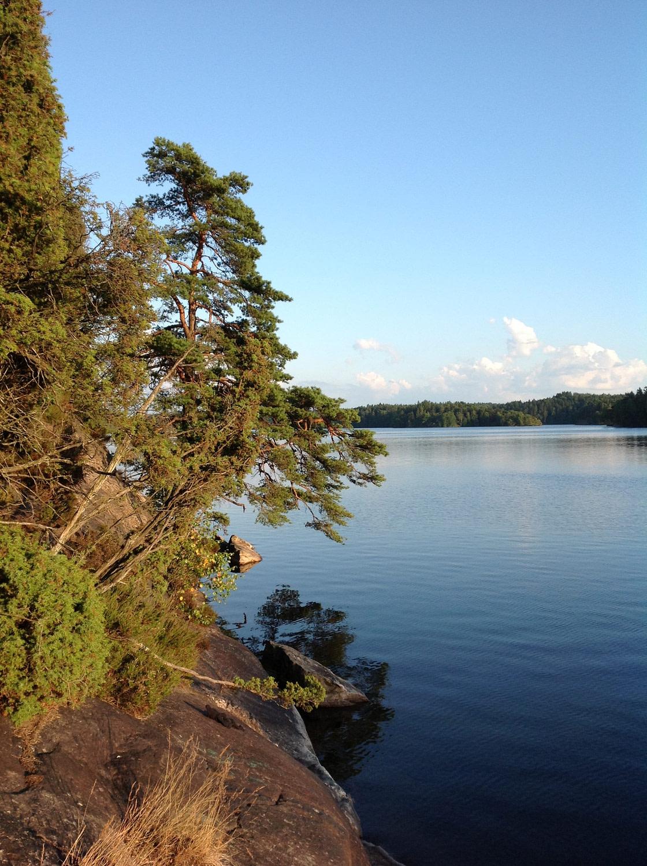 Delsjön lake
